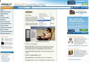 Amazon graphic text about Wi-Fi only Kindle